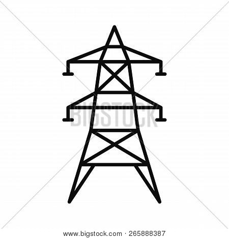 Electric Tower Icon Image Photo Free Trial