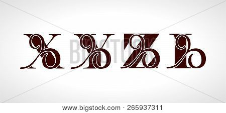 Decorative Capital Vector & Photo (Free Trial) | Bigstock