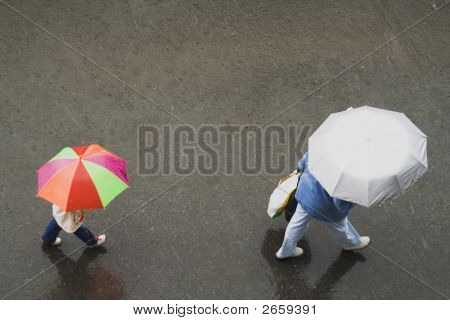 Two Umbrellas