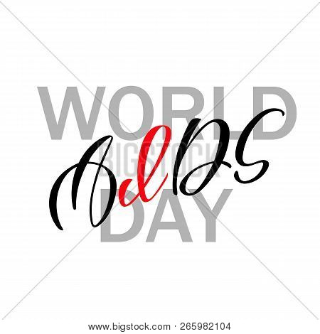 World Aids Day  Aids Vector & Photo (Free Trial) | Bigstock
