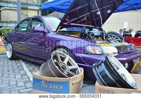 Quezon City, Ph - Apr 13 - Toyota Corolla At Rev Up Car Show On April 13, 2019 In Quezon City, Phili
