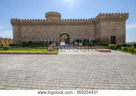 12-04-2020.baku.azerbaijan.ancient Castle And Museum On The Outskirts Of Baku In The Village Of Gala