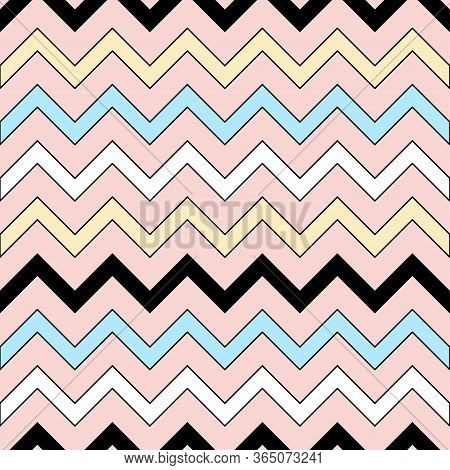 Handmade Seamless Pattern. Childish Craft Swatch For Birthday Card, Baby Nappy, Wallpaper, School Pa
