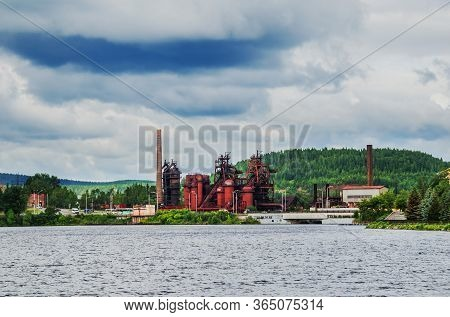 The Plant Is A Museum Of Metallurgy Based On The Territory Of The Ironworks Founded In The 18th Cent