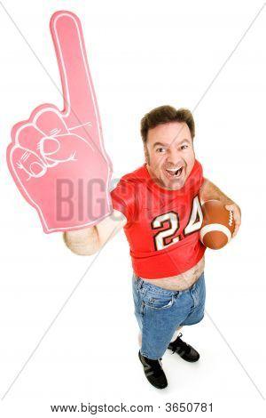 Number One Football Fan