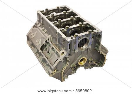 The image of a gas distribution mechanism of an explosion engine