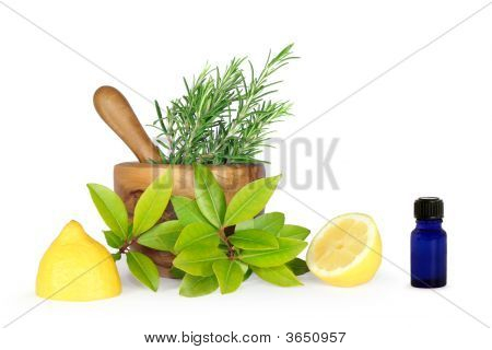 Herbs And Lemons