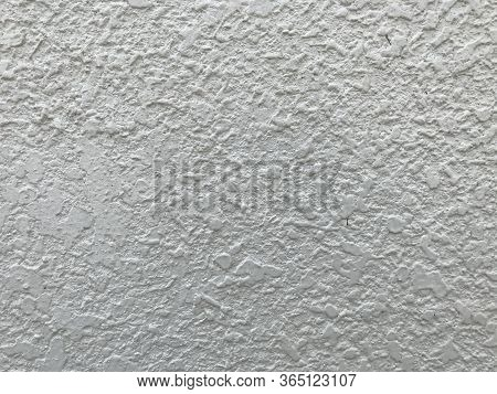 Cream Color Exterior Texture Painted For The External Surface Of An High Rise Buildings With Many Un