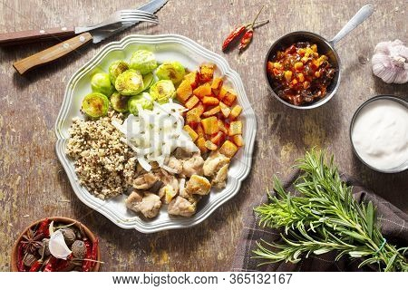 Vegetables With Chicken