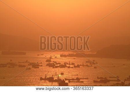 23 June 2008  Red Incense Burner Summit View Hong Kong