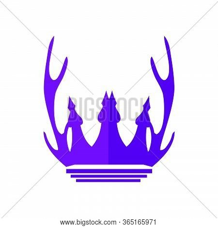 Castle Of Deer Logo And Vector Icon