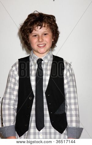 LOS ANGELES - AUGUST 1:  Nolan Gould arrive(s) at the 2010 ABC Summer Press Tour Party at Beverly Hilton Hotel on August 1, 2010 in Beverly Hills, CA.