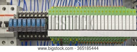 Terminal Of Control . Control Panel Assembly With Wire And Terminal Box, Ground Terminal, Personal E