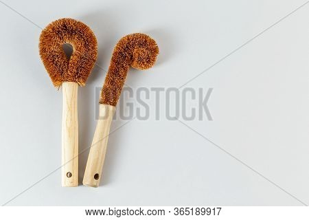 Multi Purpose Coconut Brushes For House Cleaning