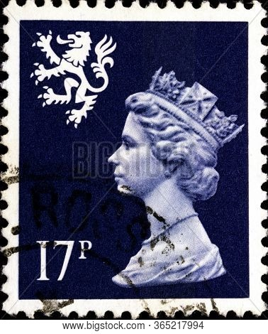 02.11.2020 Divnoe Stavropol Territory Russia Postage Stamp Great Britain Regional Postage Stamps Of