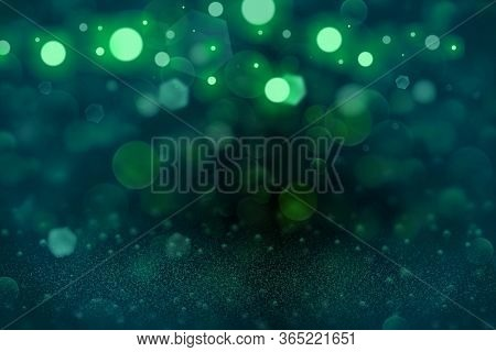Fantastic Glossy Abstract Background Glitter Lights Defocused Bokeh - Festal Mockup Texture With Bla