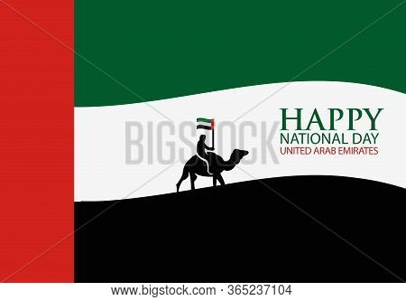 Background United Arab Emirates Happy National Holiday Of December 2. Background United Arab Emirate