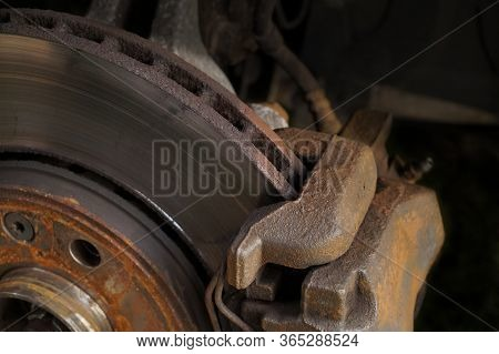 Poor Technical Condition Qualifying Brakes For Replacement.disc Brakes.