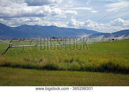 The Green And Rural Montana Country Side