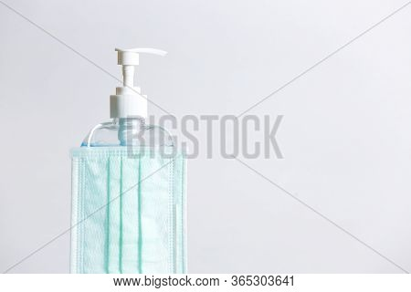 Hygienic Face Mask And  Sanitizer Hand Gel.
