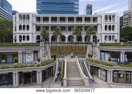 Hong Kong - April 30 2020 : 1881 Heritage, The Former Marine Police Headquarters Compound, Located I