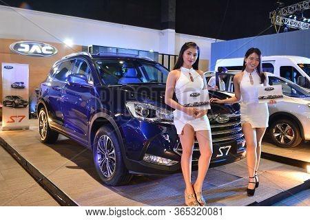 Pasay, Ph - Apr 7 - Jac Motors S7 Suv At Manila International Auto Show On April 7, 2019 In Pasay, P