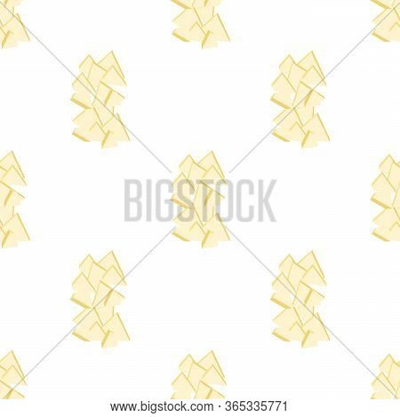 Illustration On Theme Big Colored Seamless Melon, Bright Fruit Pattern For Seal. Fruit Pattern Consi