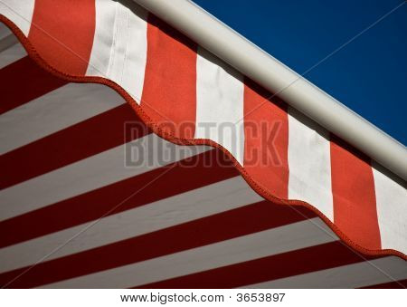 A Symbol of American colors on american flag. poster