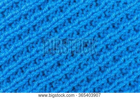 Texture Of Knitted Fabric, Background