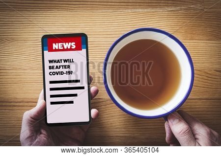 Post Covid-19 News And Analysis Of Covid-19 Anti-epidemic Measures Impact To Business Concept. Busin