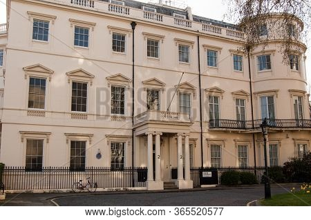 London, Uk - April 9, 2011: Historic Home Of Field Marshal Earl Kitchener, Army Commander And Secret