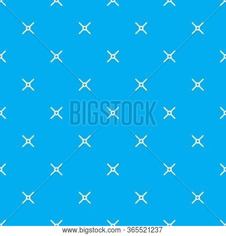 Vector Cross Stich Plus Seamless Pattern, Geometric Background. Aim Seamless Patern. Stock Vector Il