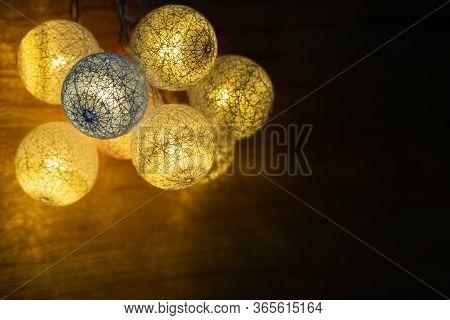 Led Light For Decoration Antique. Led Light Bulbs Vintage Style.