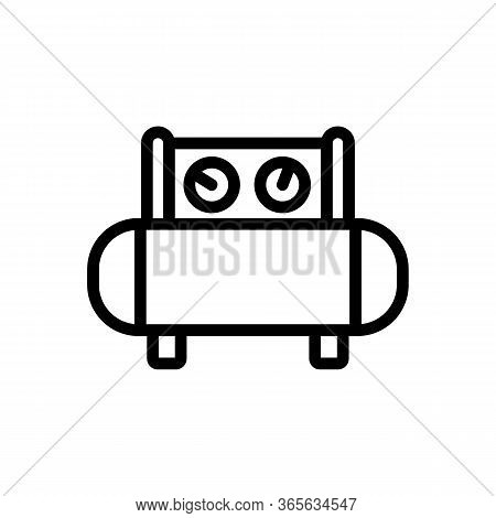 Technology Sensors Icon Vector. Technology Sensors Sign. Isolated Contour Symbol Illustration