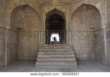 Gwalior, Madhya Pradesh/india : March 15, 2020 - Exterior Of 'gwalior Fort'
