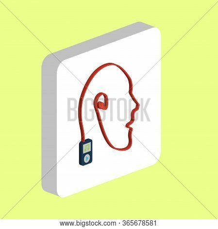 Favorite Music, Player Simple Vector Icon. Illustration Symbol Design Template For Web Mobile Ui Ele