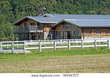 Solar Panels Farm