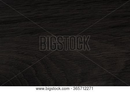 Black Wood. Expensive Ebony Texture. Textufe From Natutal Old Oak.