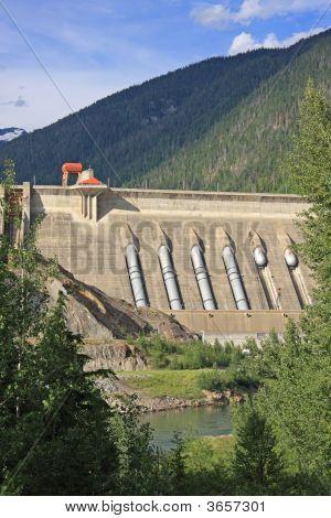 Concrete Hydro Electric Dam