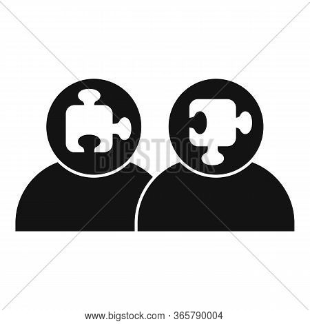 Puzzle Advice Icon. Simple Illustration Of Puzzle Advice Vector Icon For Web Design Isolated On Whit