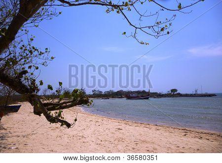 seascape of mpu rancak beach