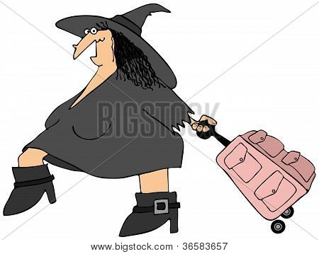 Traveling witch