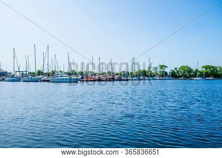 Uk Glasson Dock June 1 2016 A View Of The Port Of Lancaster At Glasson Dock, Lancashire, England,