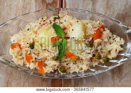 Indian Veg Biryani, Veg Pulav, Indian Vegetable Pulao