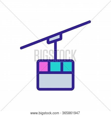 Communication Receiver Icon Vector. Communication Receiver Sign. Color Symbol Illustration