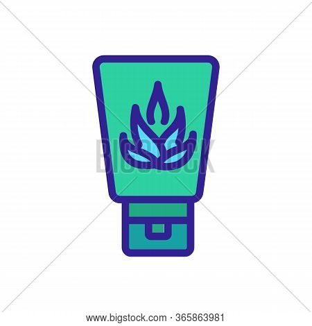 Agave Hand Cream Icon Vector. Agave Hand Cream Sign. Color Symbol Illustration