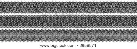 Black Textile Borders