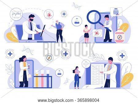 Online Medical Doctor Advice Consultation Service. Healthcare, Medicine, Lab Test. Telemedicine, Int