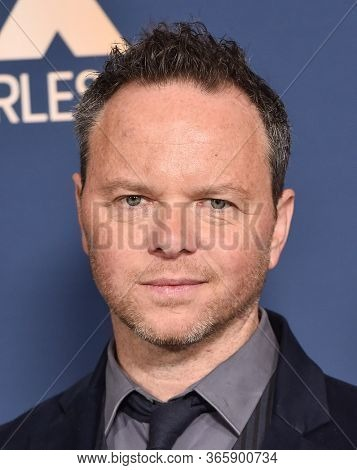 LOS ANGELES - JAN 09:  Showrunner Noah Hawley {Object} arrives for 'The Way Back' World Premiere on January 09, 2020 in Los Angeles, CA