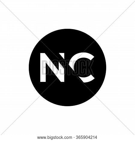 Initial Letter Nc Logo Design Vector Template. Creative Abstract Nc Letter Logo Design